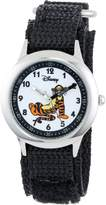 Disney Kids' W000101 Tigger Stainless Steel Time Teacher Watch