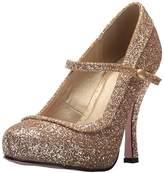 Ellie Shoes Women's 423-Candy Glitter Maryjane Platform Pump