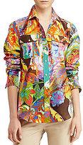 Lauren Ralph Lauren Lauren by Ralph Lauren Petite Cotton-Silk Voile Shirt
