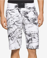 Calvin Klein Jeans Men's Marble Graphic-Print Shorts
