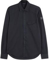Belstaff Steadway Midnight Blue Cotton Shirt