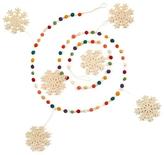 Dots & Snowflakes Christmas Garland