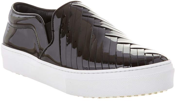 Celine Patent Slip-On Sneaker