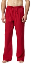 Calvin Klein Red Check Print Pyjama Pants