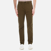 Ps By Paul Smith Tapered Fit Chinos Khaki