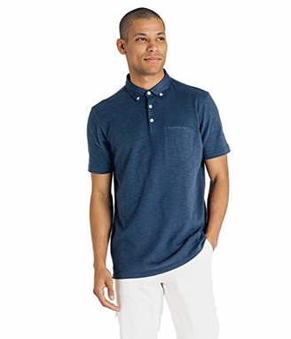 Good Man Brand Men's Soft Slub Jersey Polo