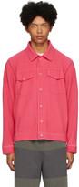 Issey Miyake Homme Plisse Pink Pleated Tailored Jacket