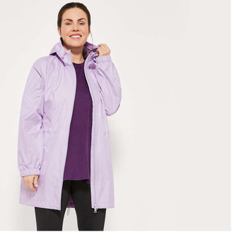 Joe Fresh Women+ Active Jacket, Lilac (Size 1X)