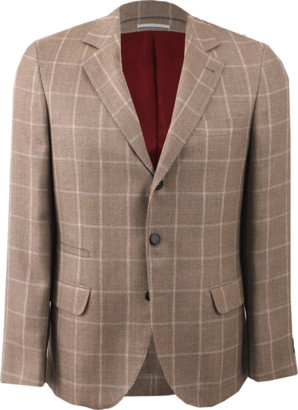Brunello Cucinelli Notch Collar Coat