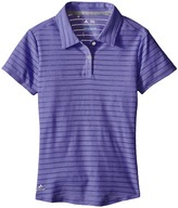 adidas Golf Kids - Essential Cotton Hand Stripe Polo Girl's Clothing