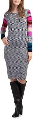 Trina Turk Dialogue Bodycon Dress