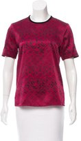 Maiyet Printed Silk Top w/ Tags
