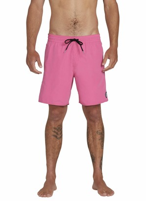Volcom Men's LIDO Solid Trunk 16 Swim