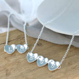 Louy Magroos Personalised Anniversary Heart Necklace