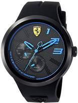 Ferrari Scuderia Men's 'FXX' Quartz Resin and Silicone Casual Watch, Color:Black (Model: 0830395)