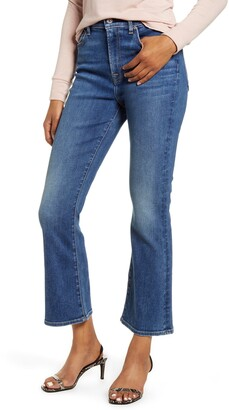 7 For All Mankind High Waist Slim Fit Kick Flare Jeans