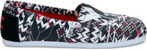 Toms x Prabal Gurung Black and Red Fair Isle Women's PG Classics