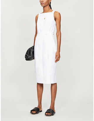 Max Mara Brema sleeveless cotton midi dress