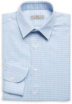 Canali Slim-Fit Medallion Dress Shirt
