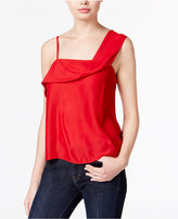 Kensie One-Shoulder Crepe Top
