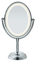 Conair Reflections LED Lighted Mirror Collection Oval, Chrome