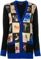 Etro nature print knitted cardigan