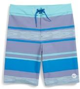 Vineyard Vines Boy's Surfer Stripe Board Shorts