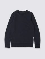 Marks and Spencer Unisex Cotton Rich Sweatshirt