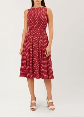 Hobbs Della Midi Dress