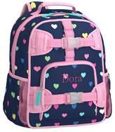 Pottery Barn Kids Mackenzie Navy Multi Heart Backpacks