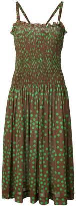Molly Goddard polka dot midi dress