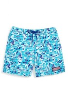 Vineyard Vines Toddler Boy's Gamefish Mosaic Bungalow Swim Trunks