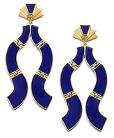 Tory Burch Abstract Epoxy Earring