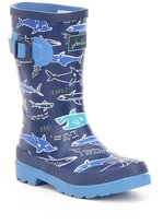 Joules Boys Welly Shark Waterproof Rain Boots