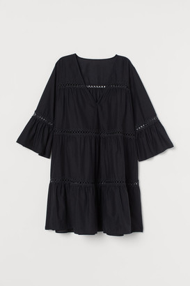 H&M Cotton Beach Dress - Black
