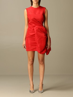 N°21 N 21 Dress Mini Dress N ° 21 With Maxi Sculpture Bow