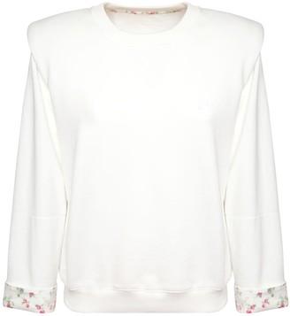 Philosophy di Lorenzo Serafini Liberty Cotton Fleece Sweatshirt