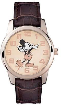 Mickey Mouse Unisex Analogue Quartz Watch with Polyurethane Strap - MK1459