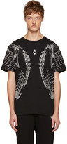 Marcelo Burlon County of Milan Black Bove T-Shirt