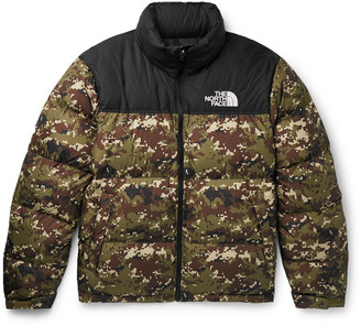The North Face 1996 Nuptse Camouflage Quilted Shell Down Jacket - Men