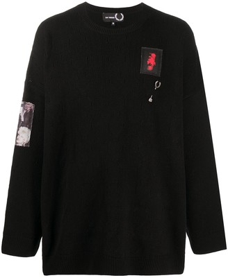 Fred Perry Oversized Patch Detail Jumper