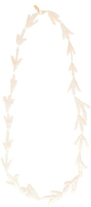 ALBUS LUMEN 18kt Gold-plated Keshi-pearl Necklace - Pearl