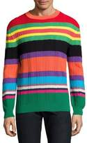 Paul Smith Striped Knit Pullover