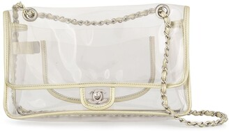Chanel Pre Owned 2006-2008 Double Chain Shoulder Bag
