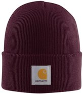 Carhartt Acrylic Watch Cap - Port Iconic Burgundy Watch Hat