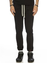 Peace Love World Solid Black Kanga Pant