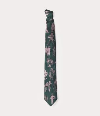 Vivienne Westwood Figure Orb Tie Green