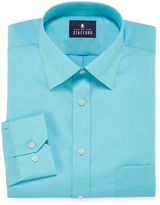 STAFFORD Stafford Travel Easy-Care Broadcloth - Big & Tall Long Sleeve Dress Shirt