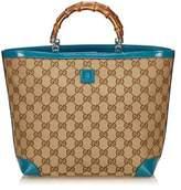 Gucci Pre-owned: Guccissima Bamboo Tote Bag.