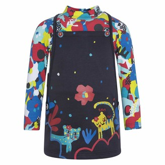 Tuc Tuc Girl's Vestido Punto + Felpa Nina Dress